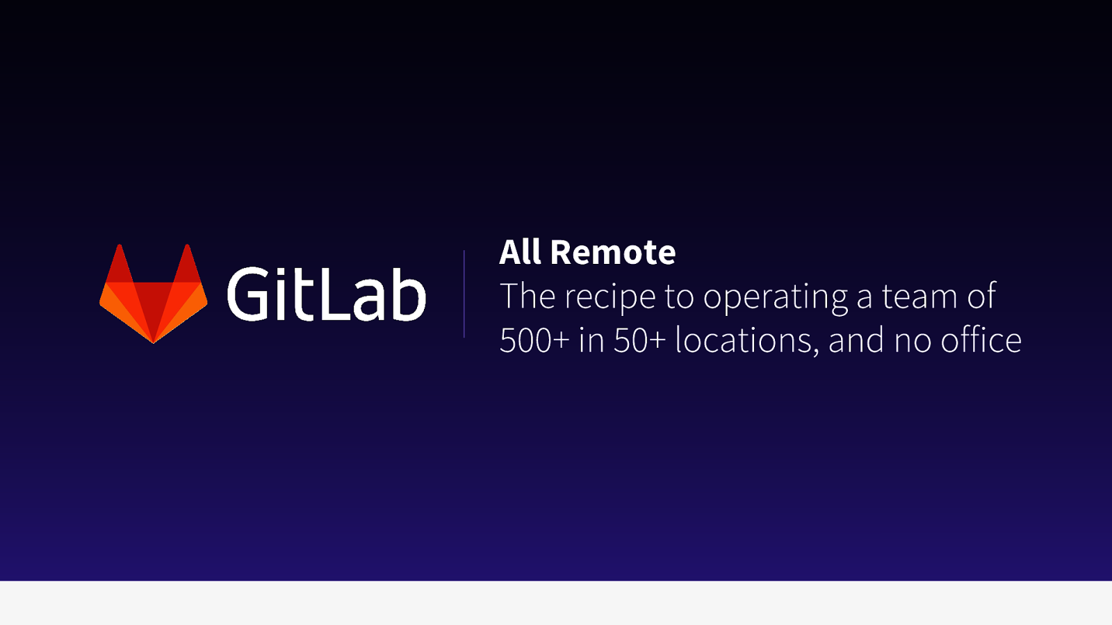 GitLab - All Remote