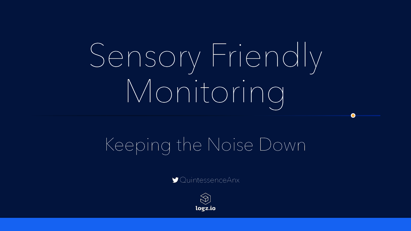 Sensory Friendly Monitoring: Keeping the Noise Down