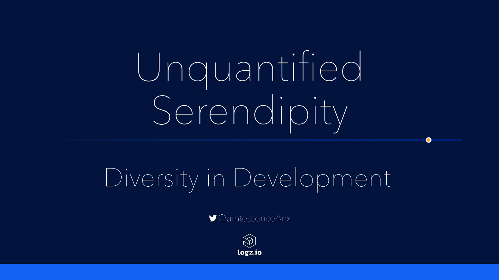 Unquantified Serendipity: Diversity in Development