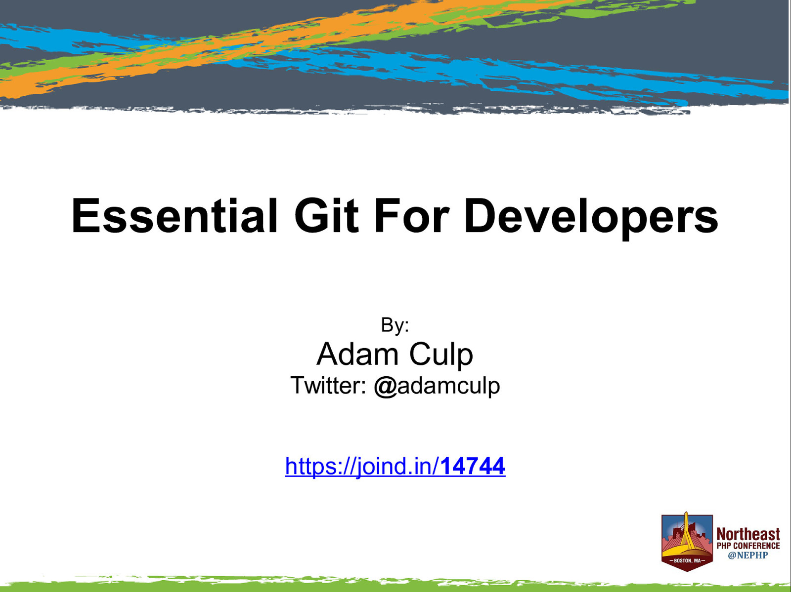 Essential Git for developers