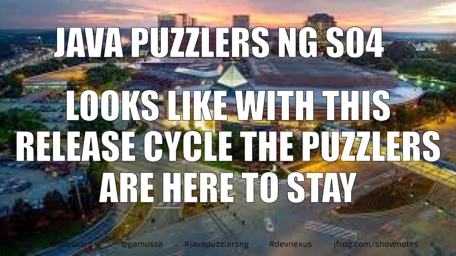 Java Puzzlers NG S04 - Looks like with this release cycle the puzzlers are here to stay