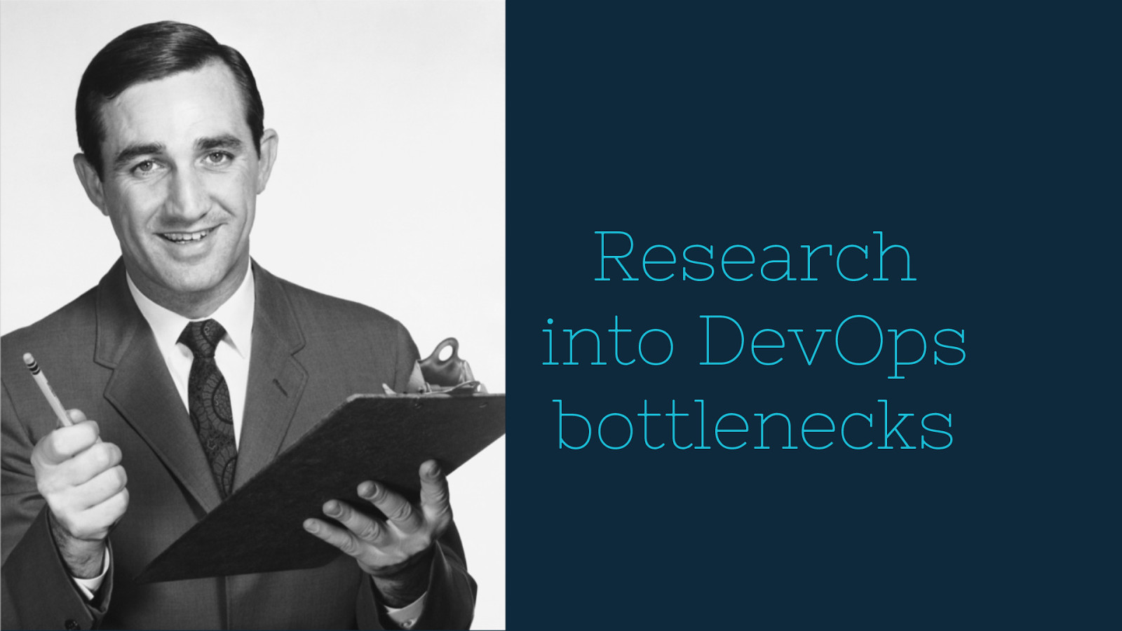 A Research Study into DevOps Bottlenecks