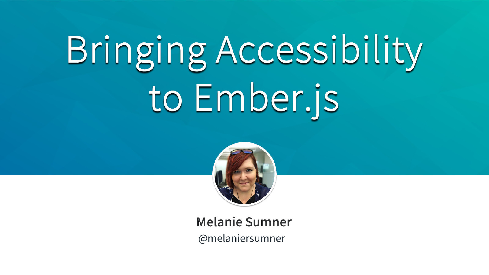 Bringing Accessibility to the Ember.js Framework