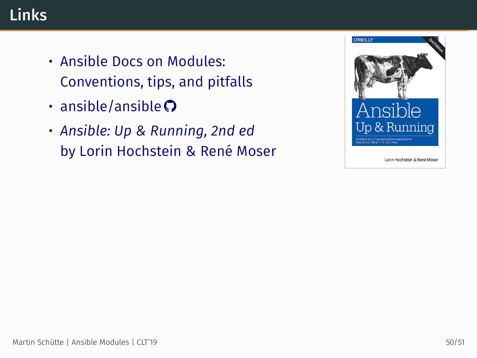 Writing Ansible Modules