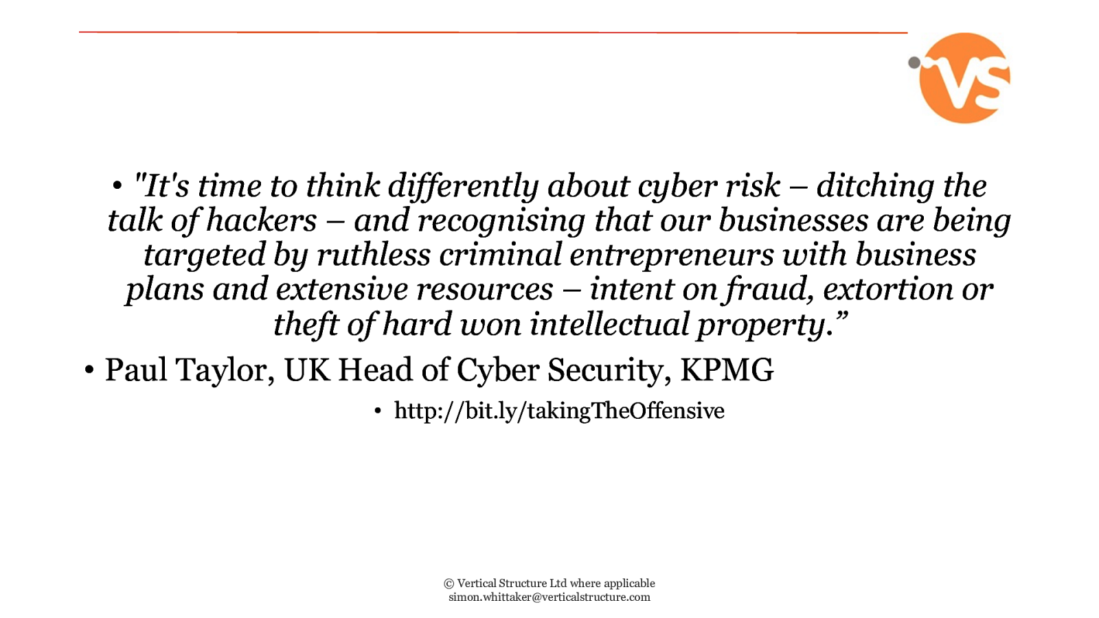 Cyber Security in 2019