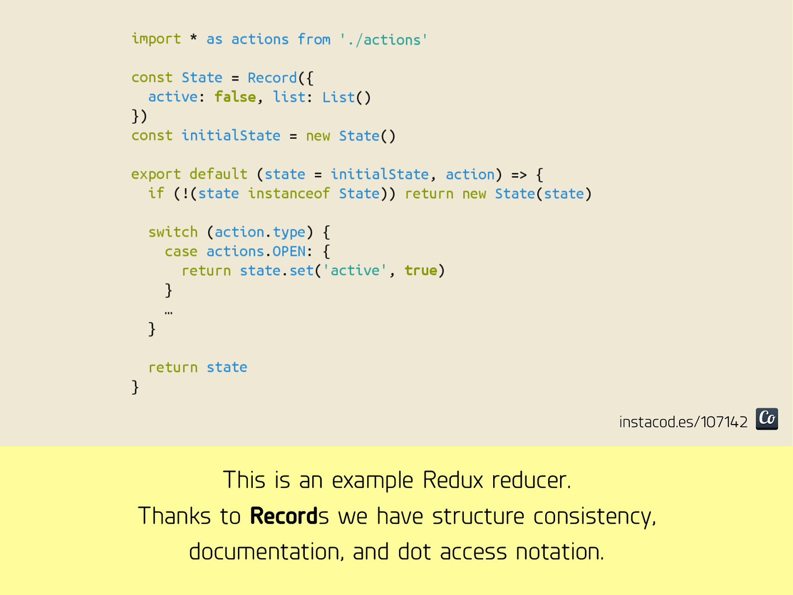 Purifying React (with annotations)