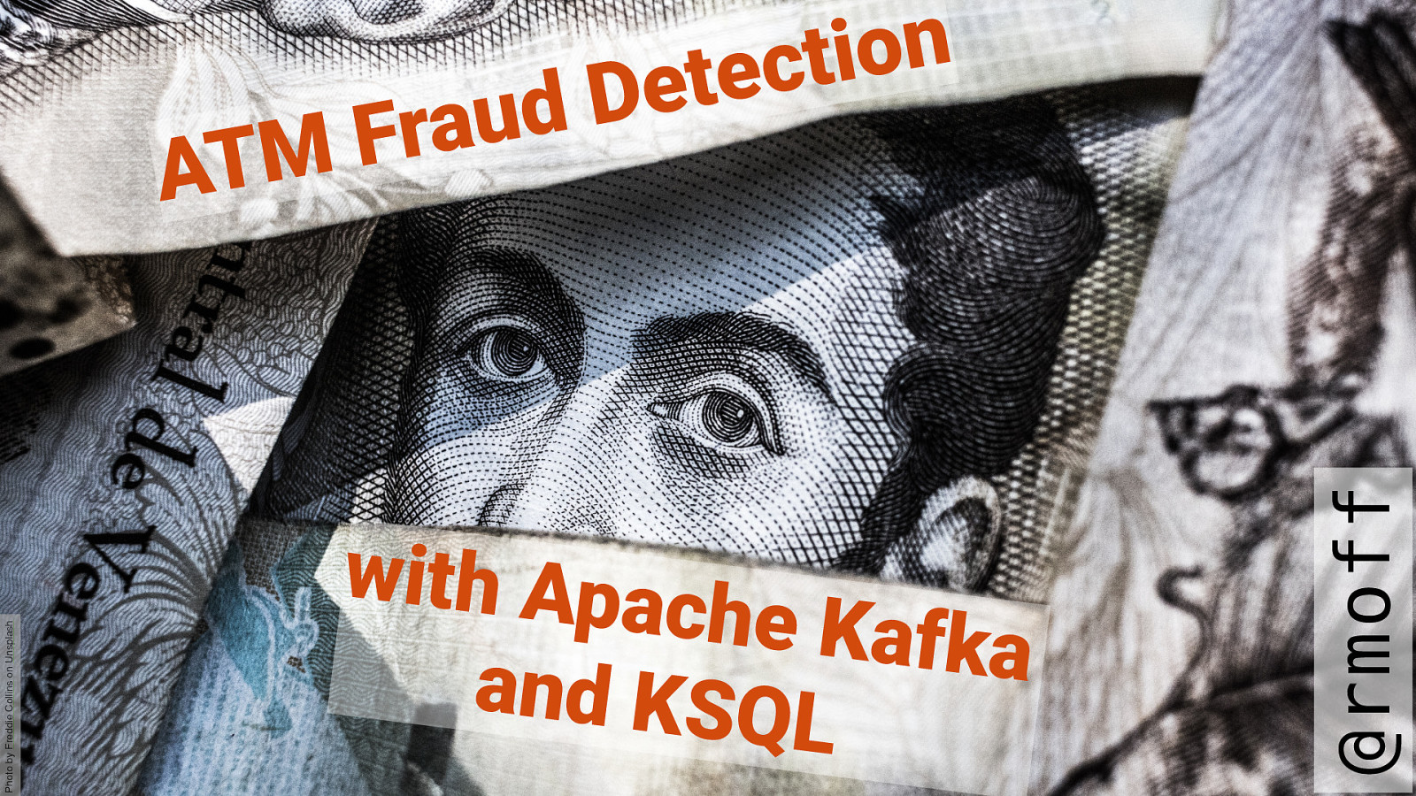 ATM Fraud detection with Kafka and KSQL