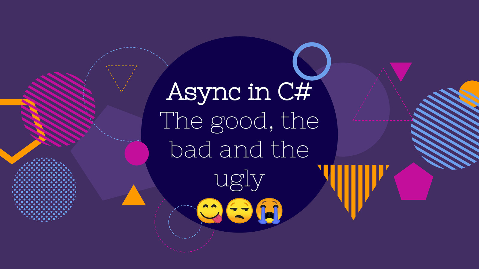 Async in C# - The Good, the Bad and the Ugly