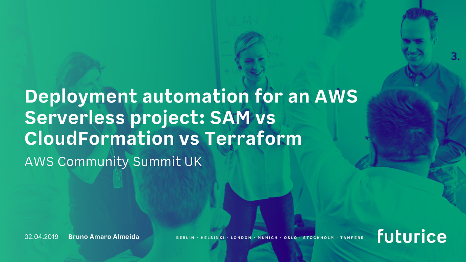 Deployment automation for an AWS Serverless project: SAM vs CloudFormation vs Terraform