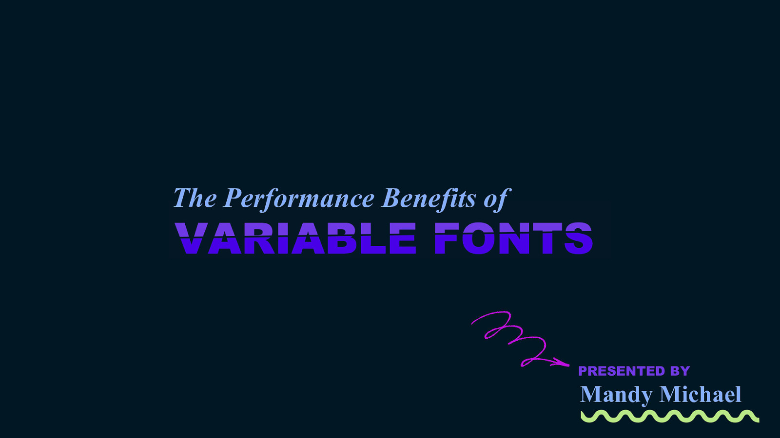 Performance Benefits of Variable Fonts