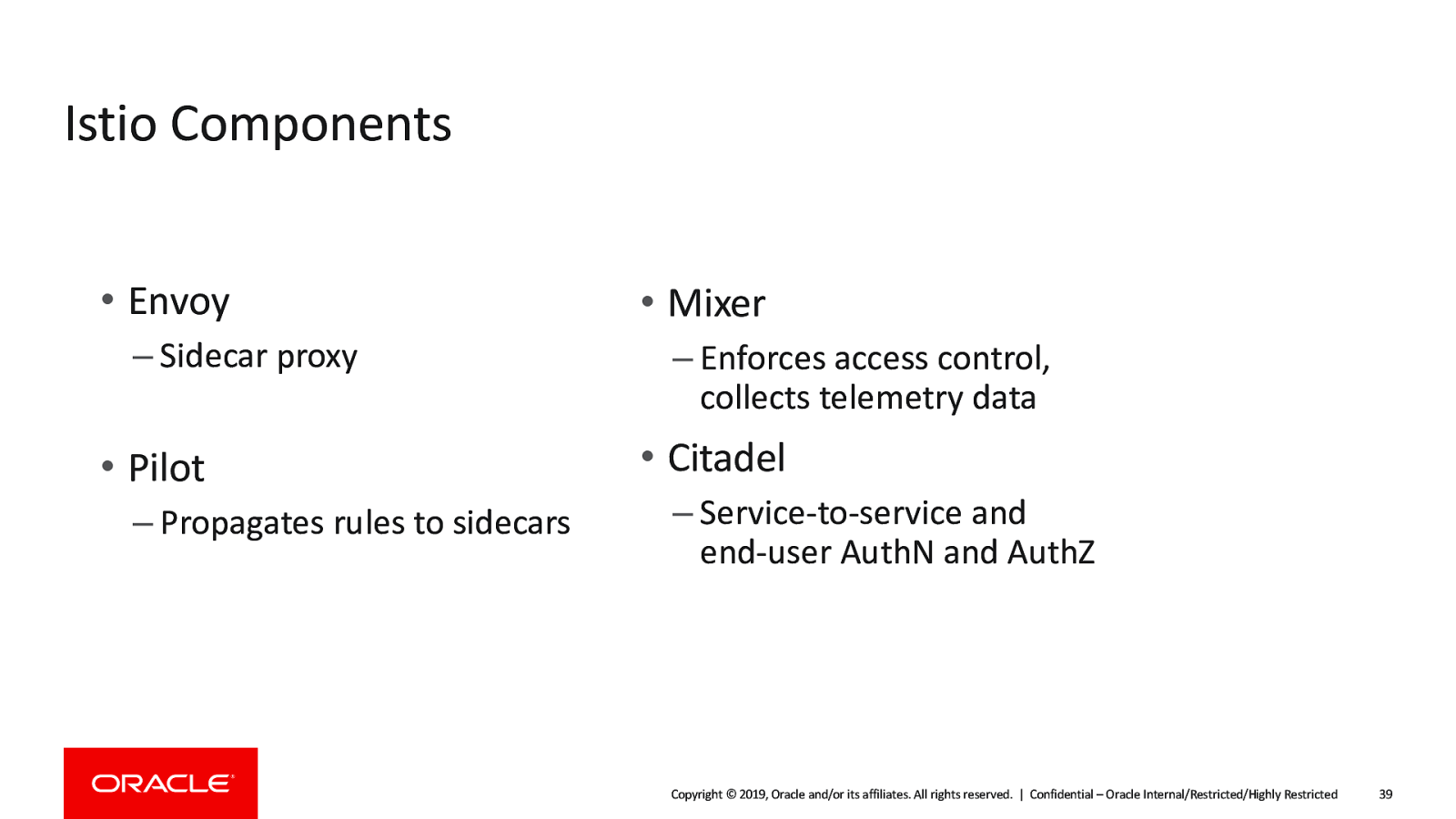 Microservices at Scale with Istio