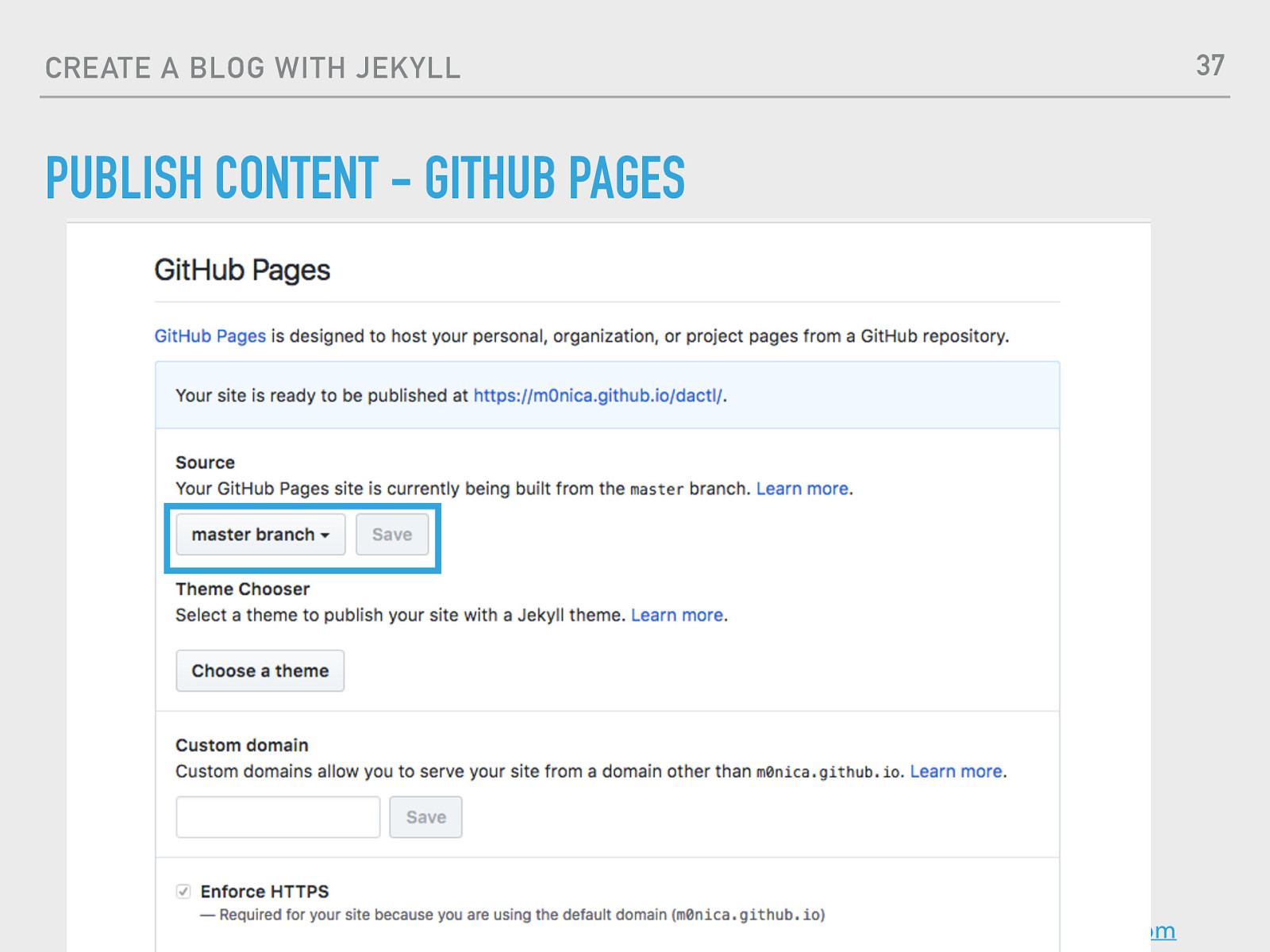 Technical Blogging with Jekyll