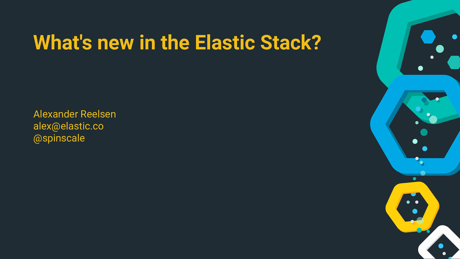 What's new in the Elastic Stack - 7 x Edition