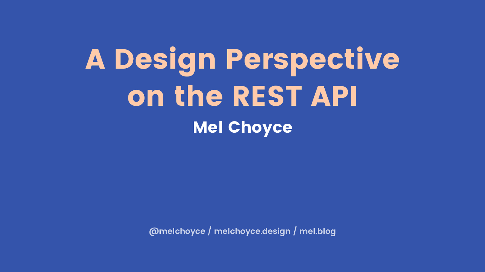 A Design Perspective on the WordPress REST API