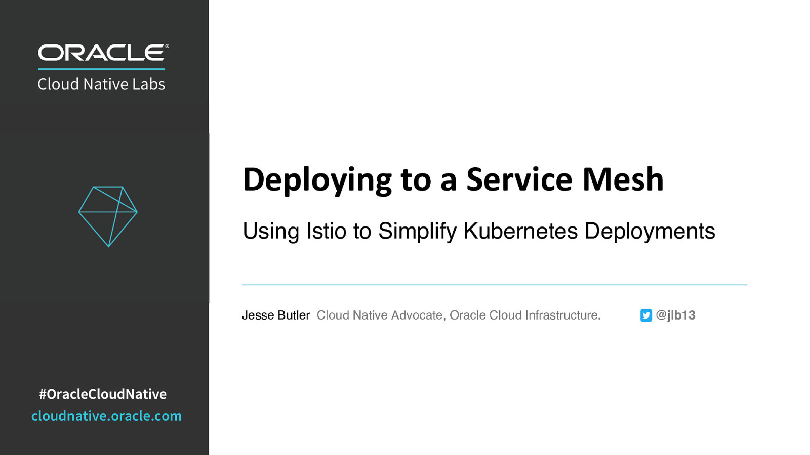 Deploying to a Service Mesh