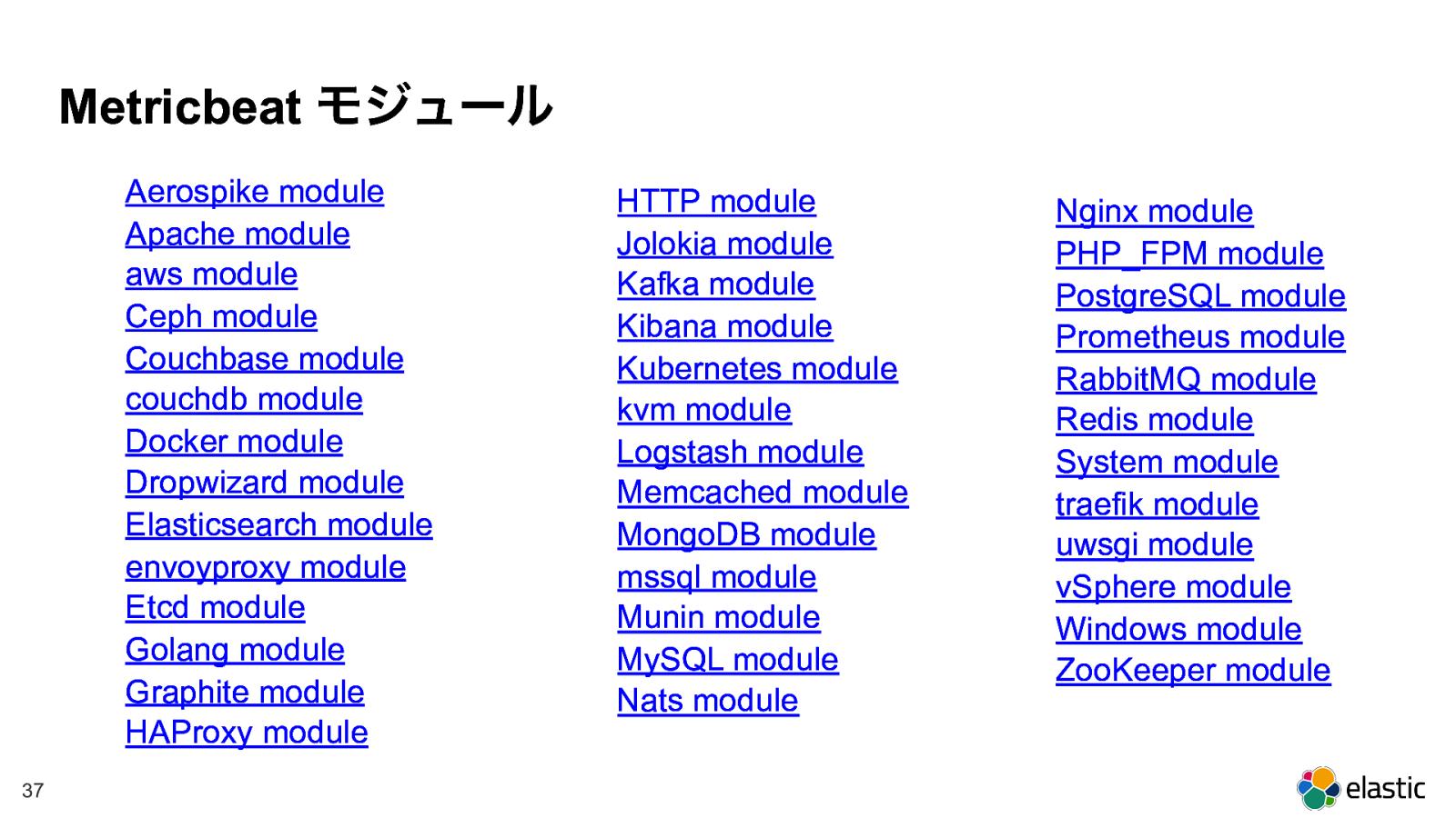 Elastic Stackでマイクロサービス 運用を楽にするには?