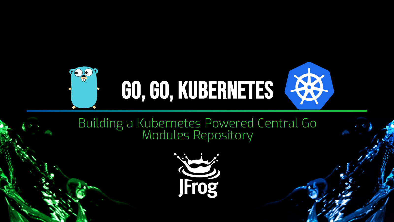 Building a Kubernetes Powered Central Go Modules Repository