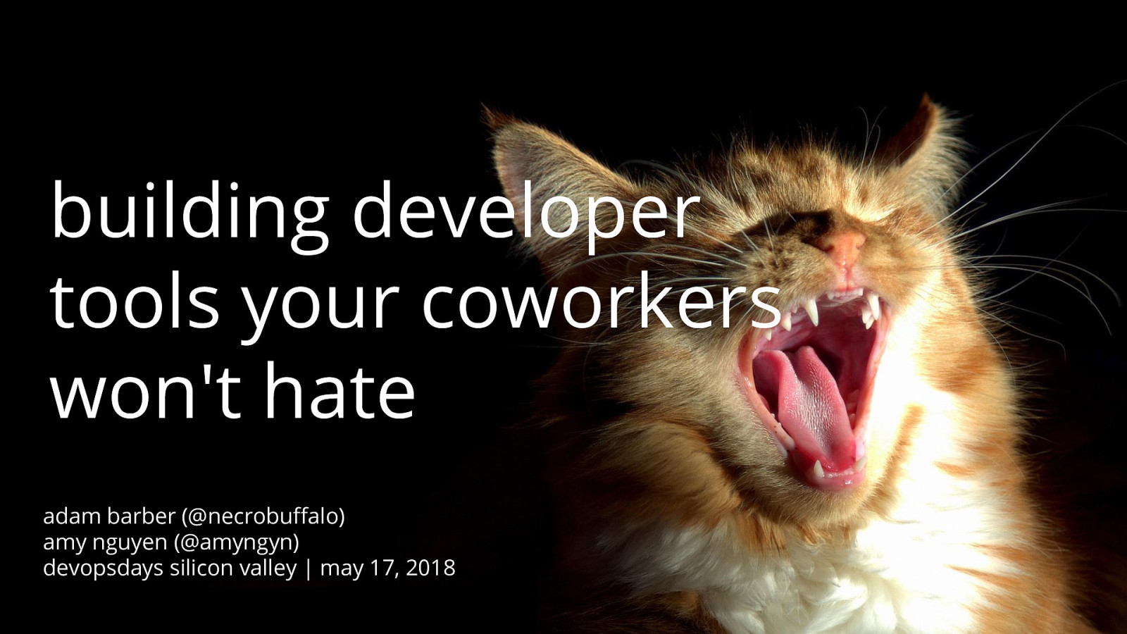 Building Developer Tools Your Coworkers Won't Hate