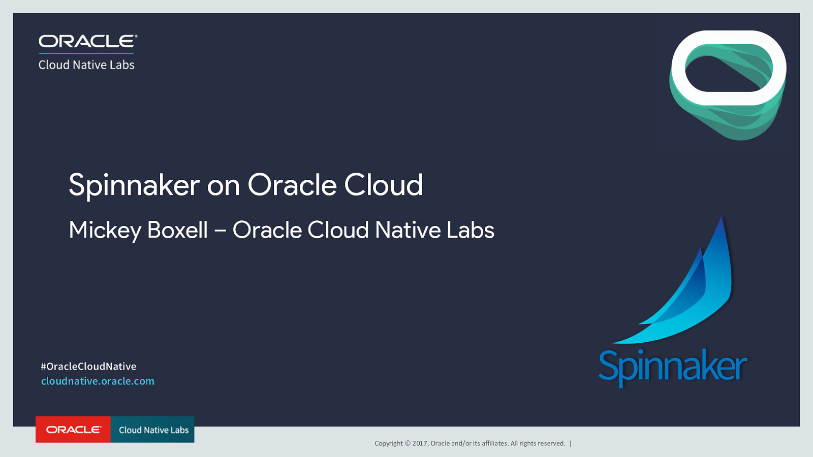Spinnaker on Oracle Cloud