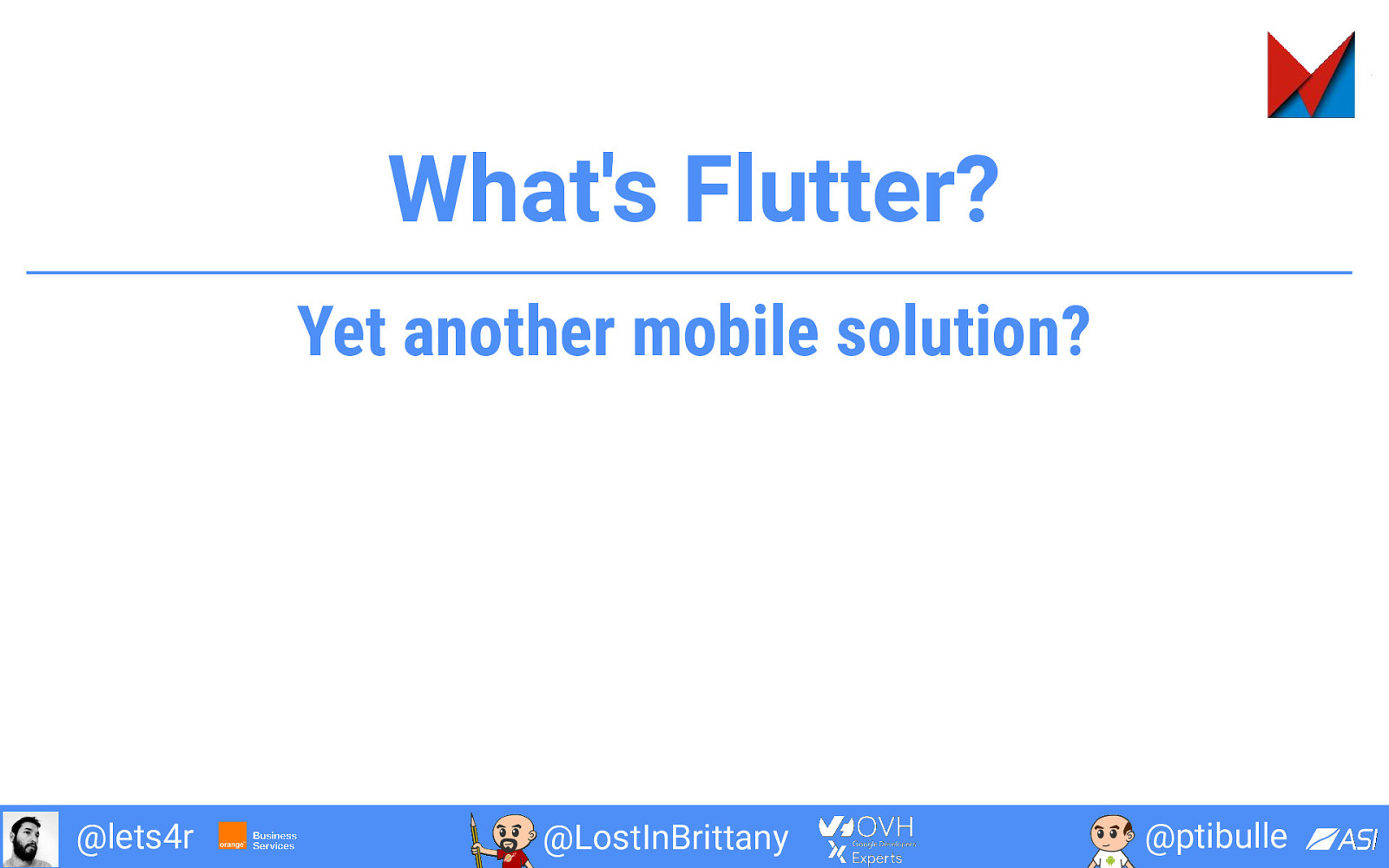 Two hours to write your first Flutter App