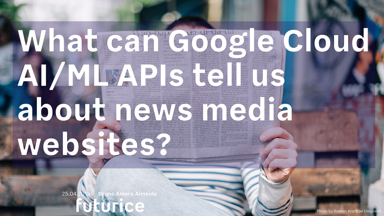What can Google Cloud AI-ML APIs tell us about news media websites?