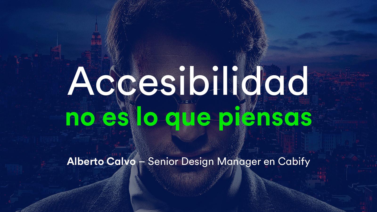 Accesibilidad no es lo que piensas