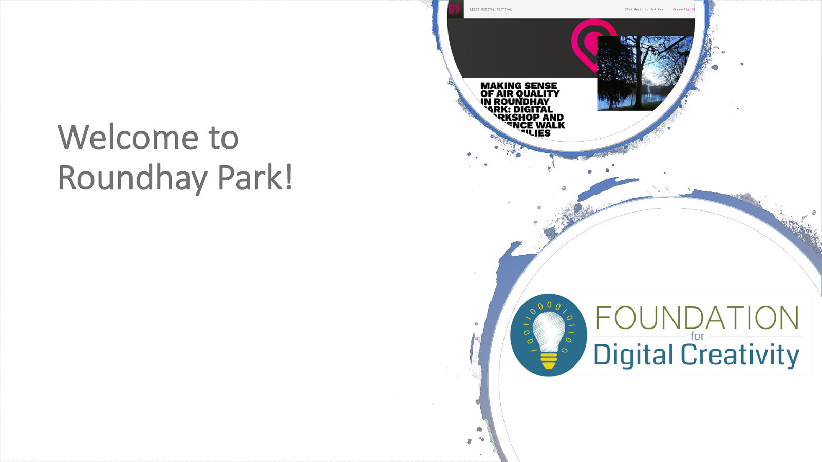 Making Sense of Air Quality in Roundhay Park: Digital Workshop and a Science Walk for Families