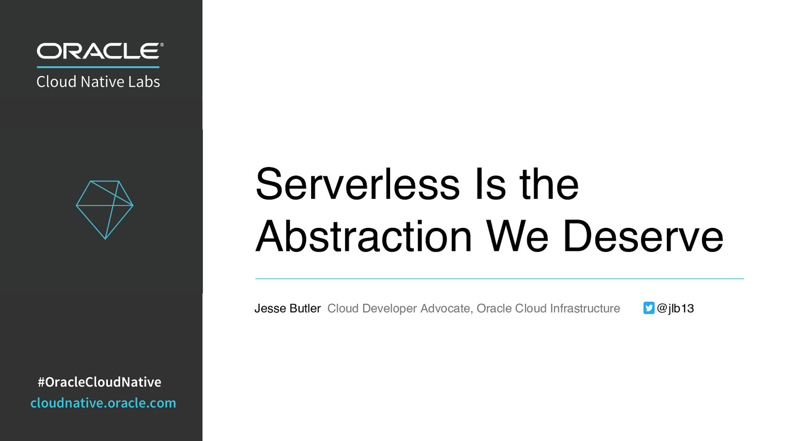 Serverless is the Abstraction We Deserve