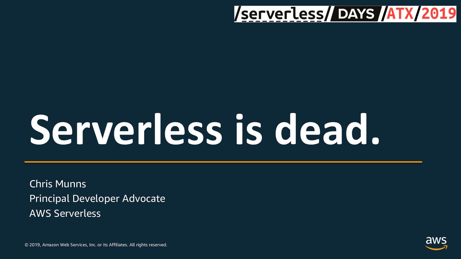 Serverless Days Austin