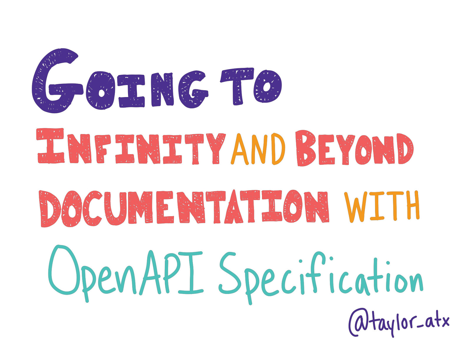 Going to Infinity and Beyond Documentation with OpenAPI Specification (Longhorn PHP Edition)