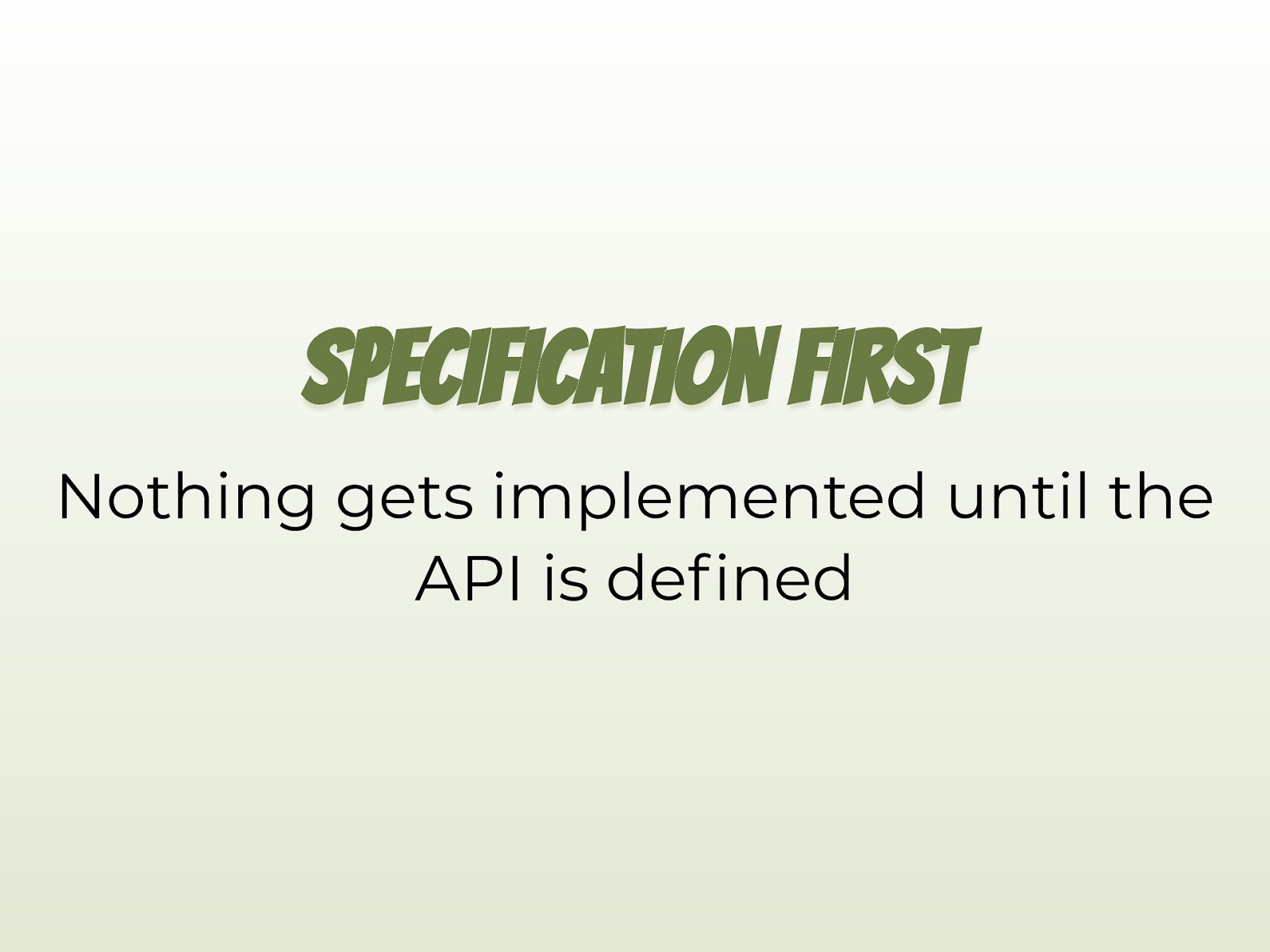 Beyond Documentation with OpenAPI