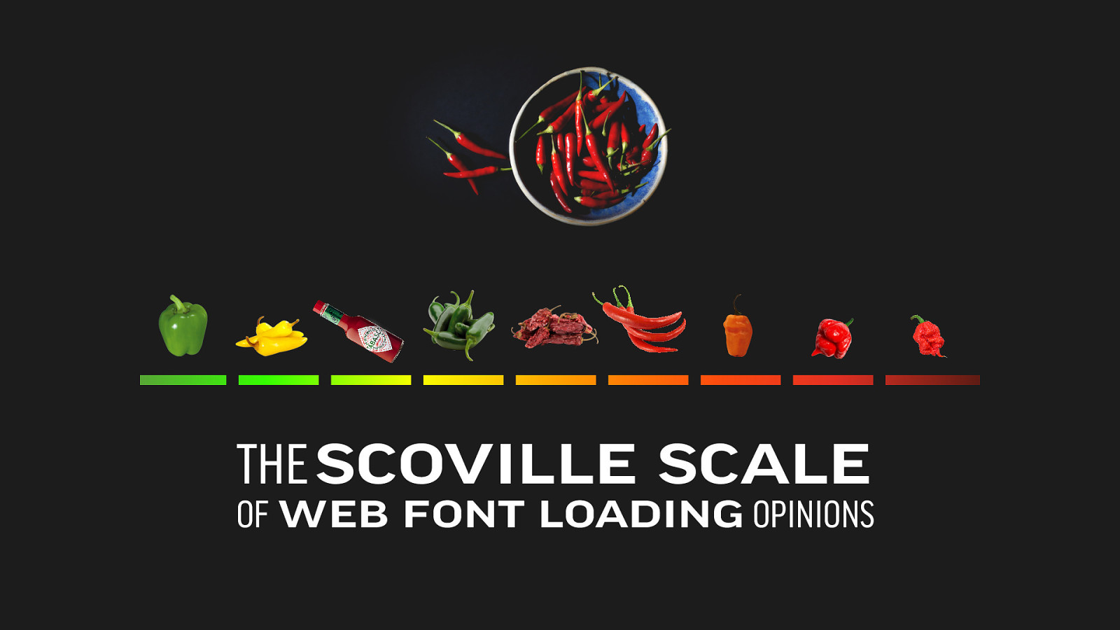 The Scoville Scale of Web Font Loading Opinions