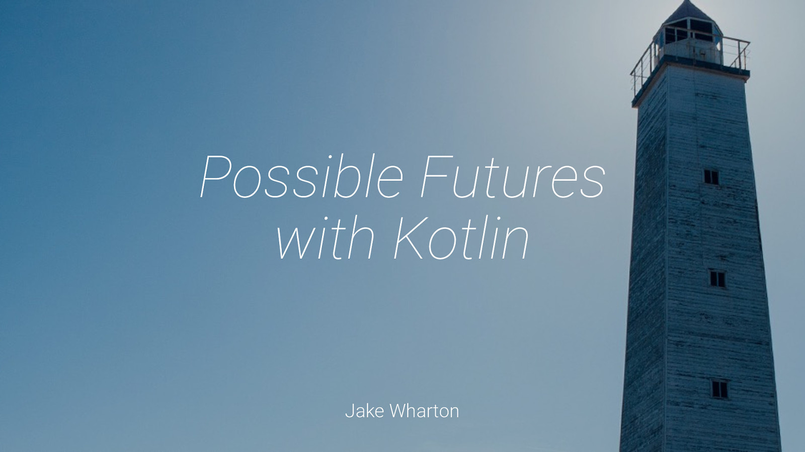 Possible Futures with Kotlin
