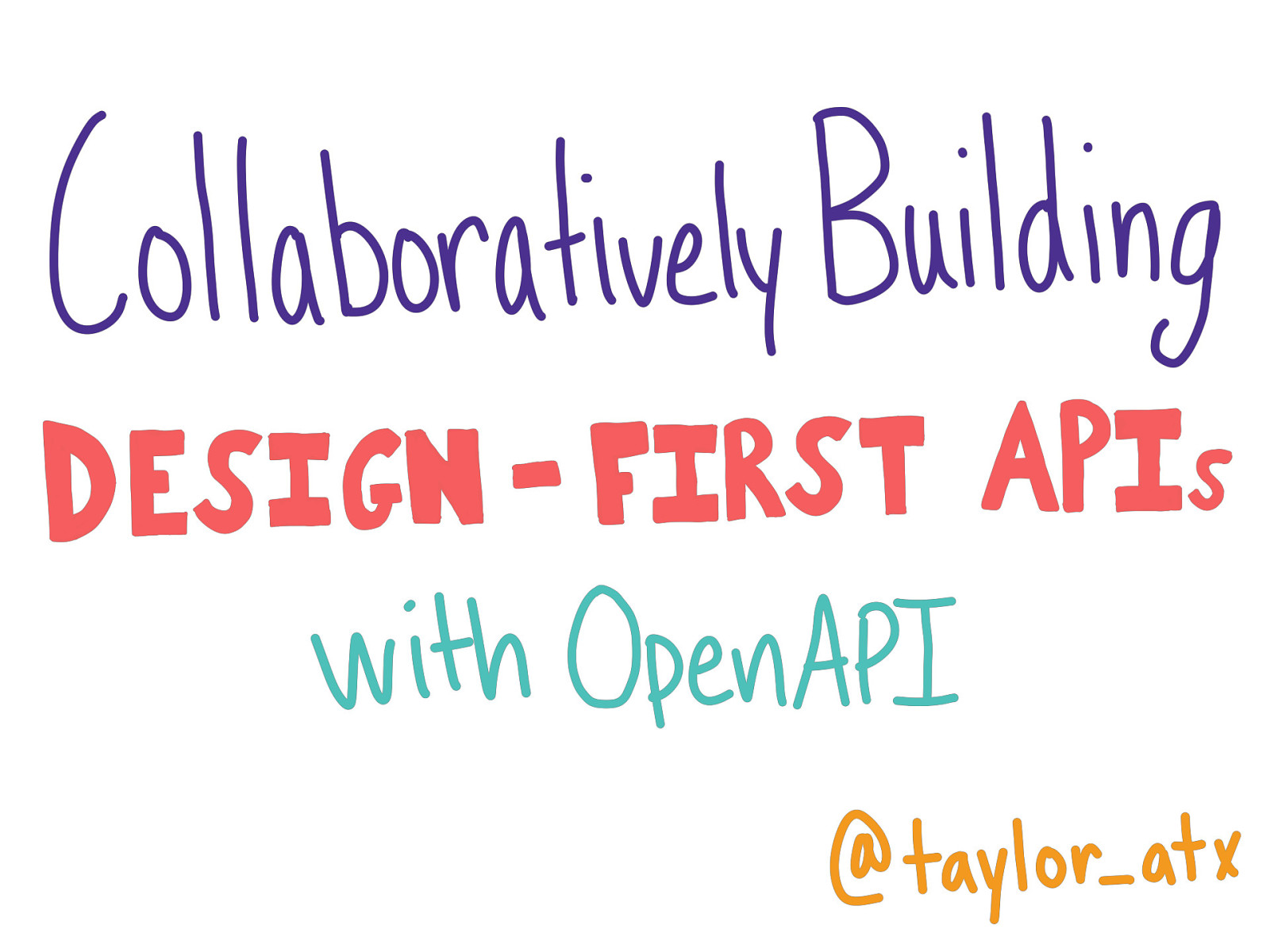 Collaboratively Building Design-First APIs with OpenAPI