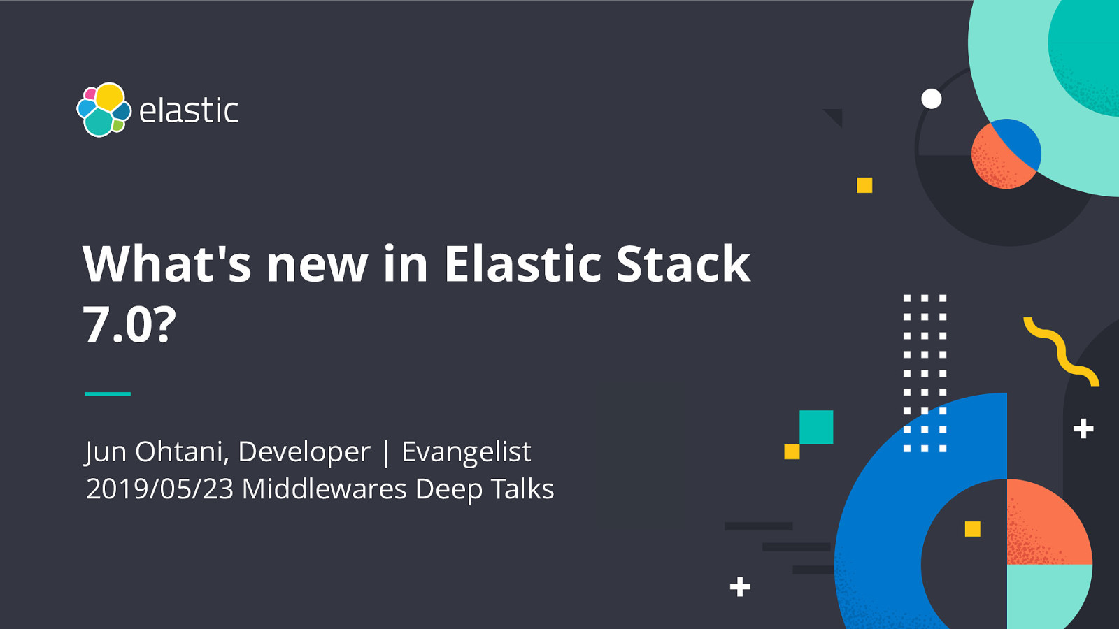 What's new in Elastic Stack 7.1?