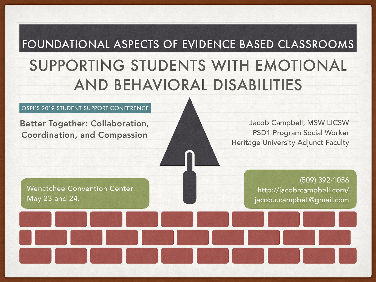 Foundational Aspects of Evidence Based Classrooms: Supporting Students with Emotional and Behavioral Disabilities