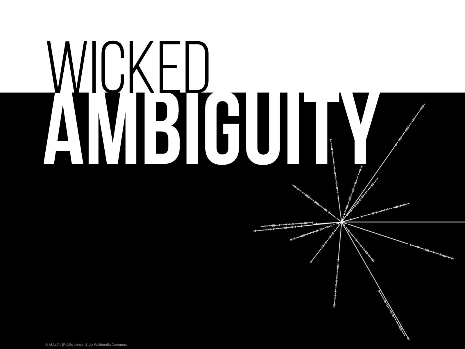 Keynote: Wicked Ambiguity and User Experience