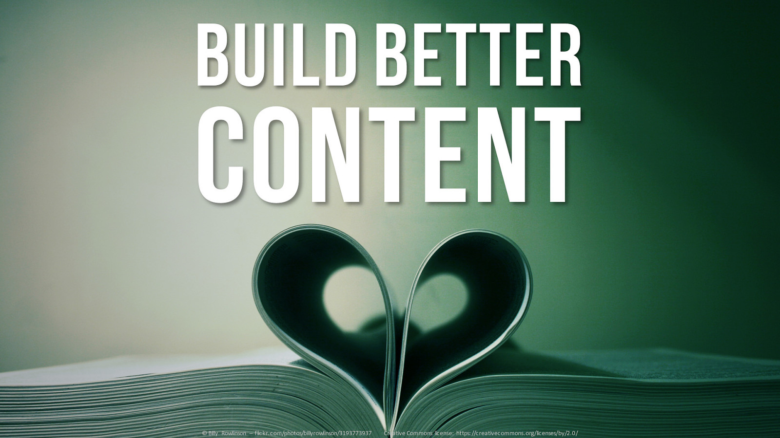 Designing Social Experiences That Work: Build Better Content