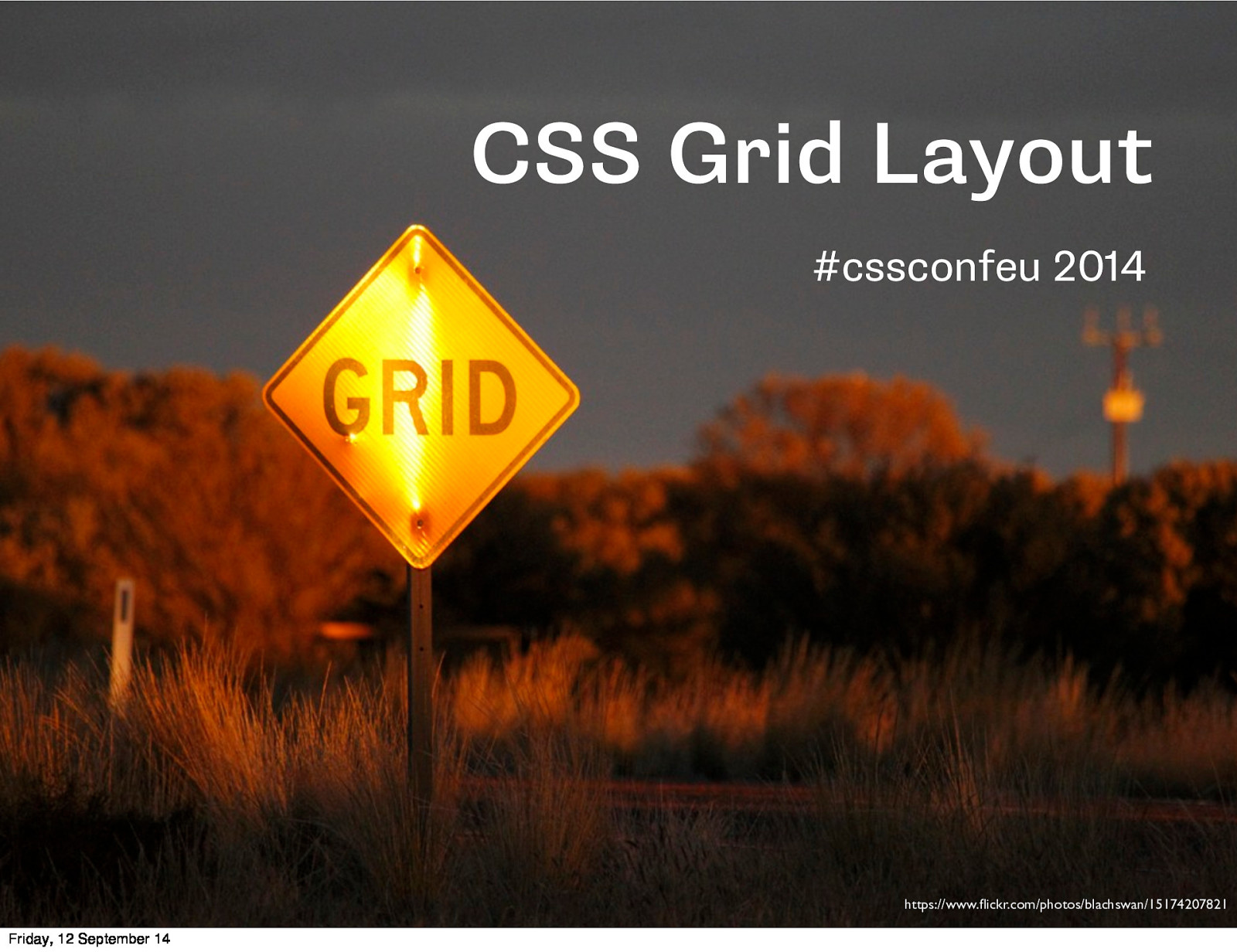 CSS Conf: CSS Grid Layout
