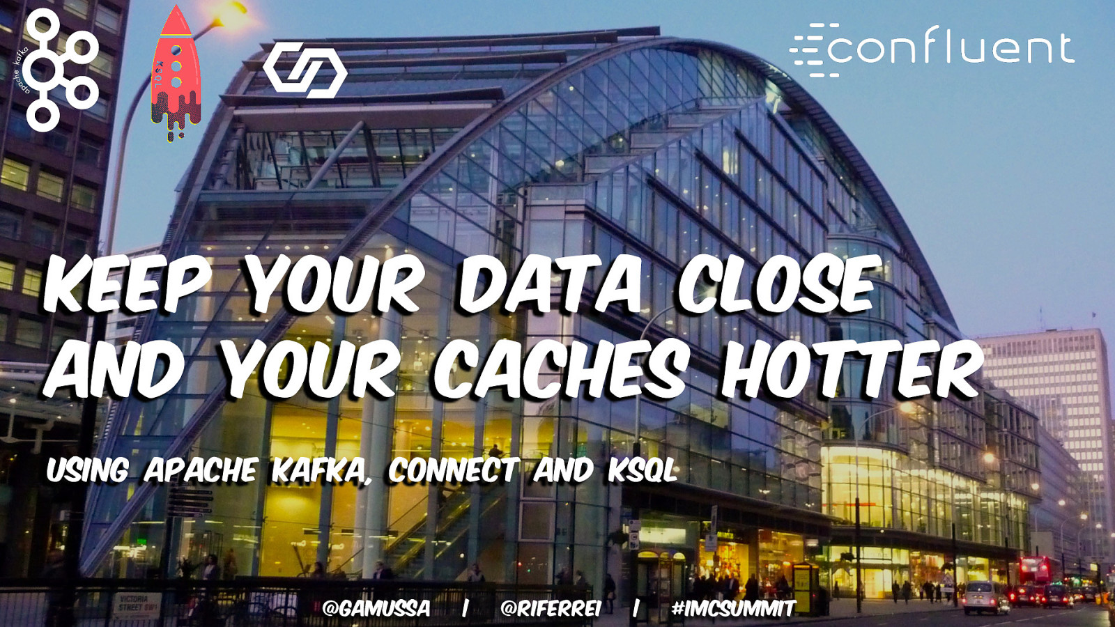 Keeping your Data Close and your Caches Hotter