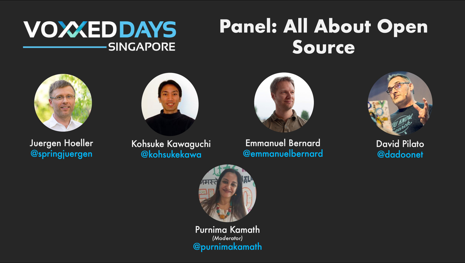 Panel discussion: all about open source