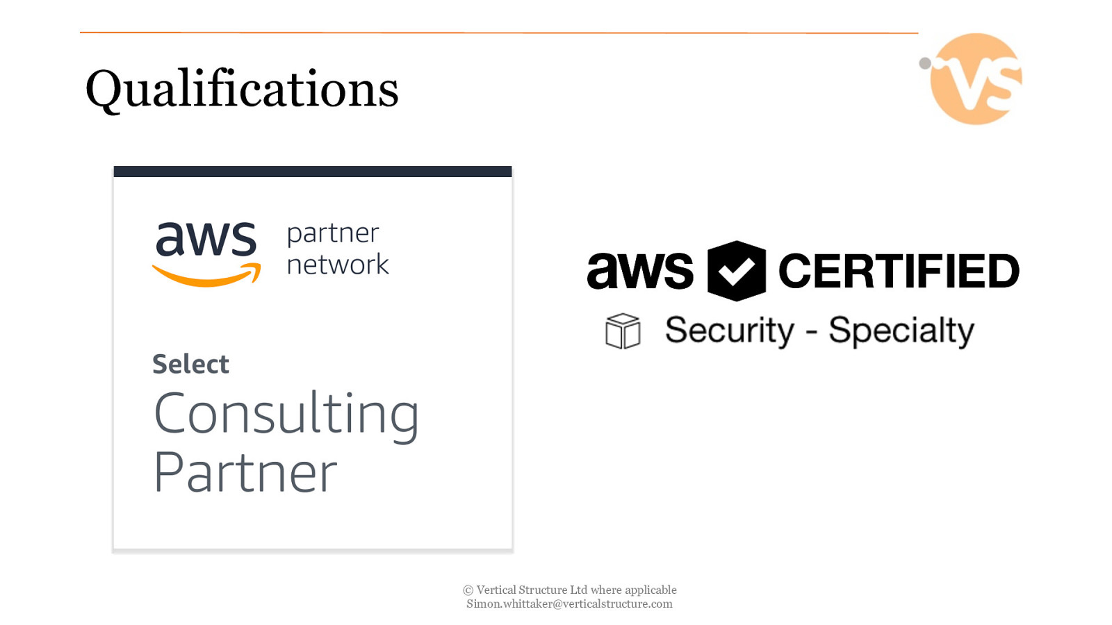 Compromising AWS for fun and profit