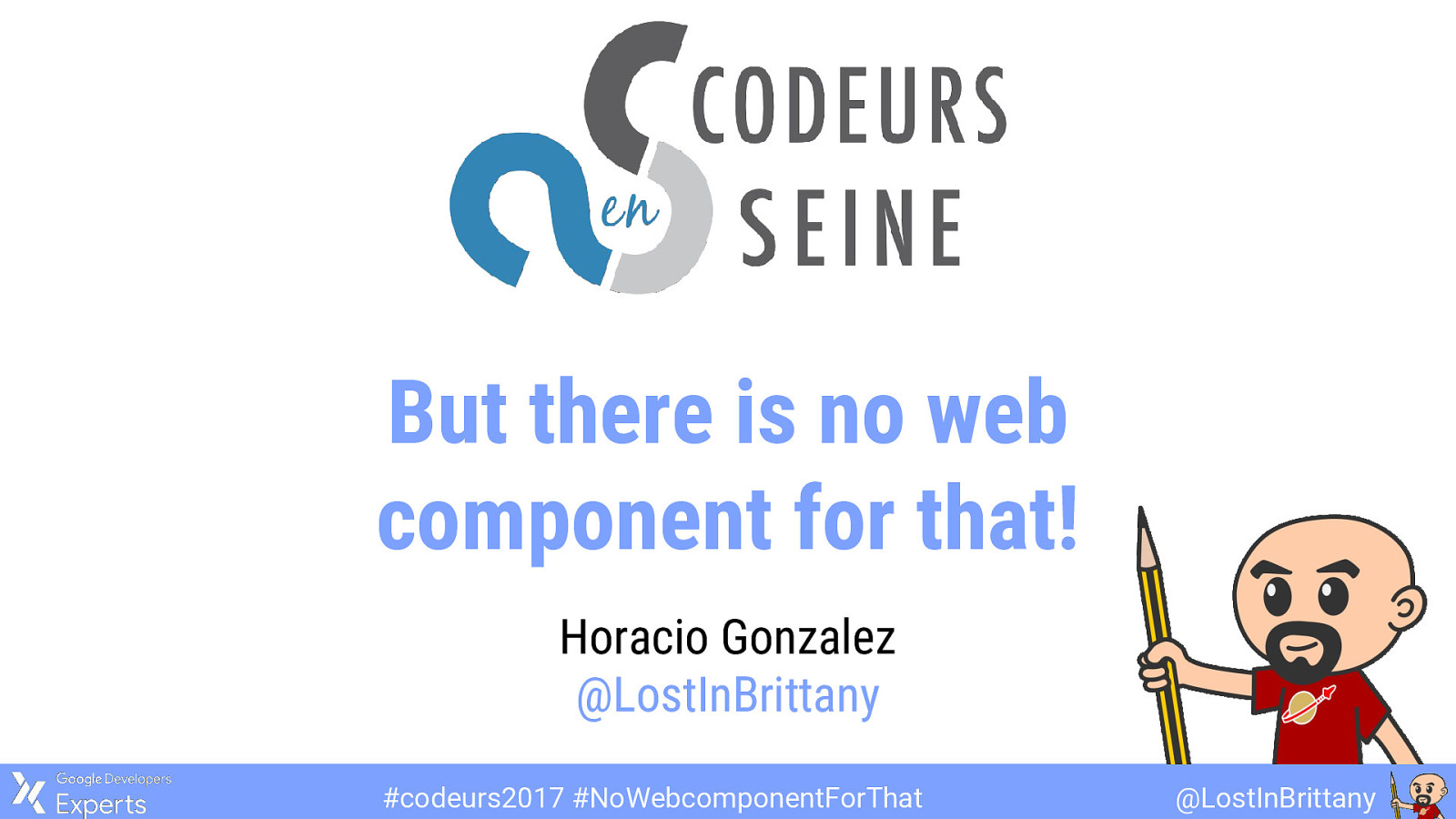 But there is no web component for that