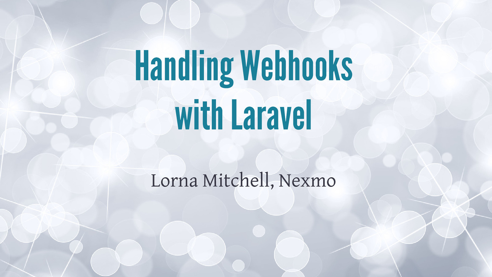 Handling Webhooks with Laravel