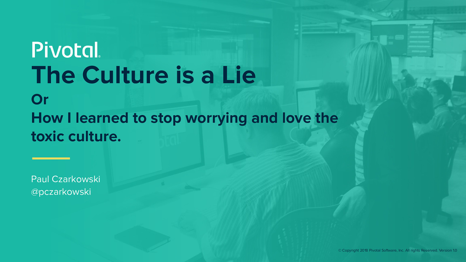 DevOps - The Culture is a Lie