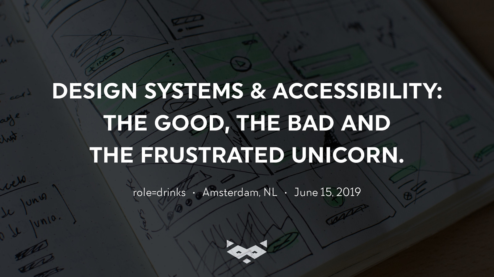 Design systems & Accessibility: the Good, the Bad and the Frustrated Unicorn