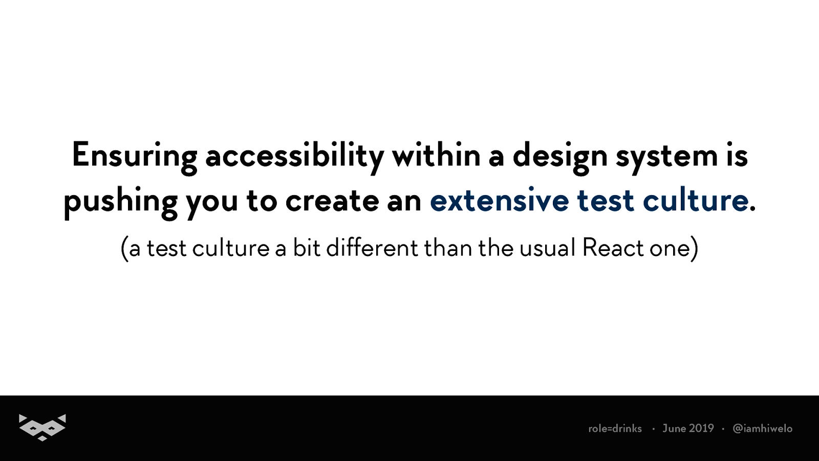 Design systems & Accessibility: the Good, the Bad and the