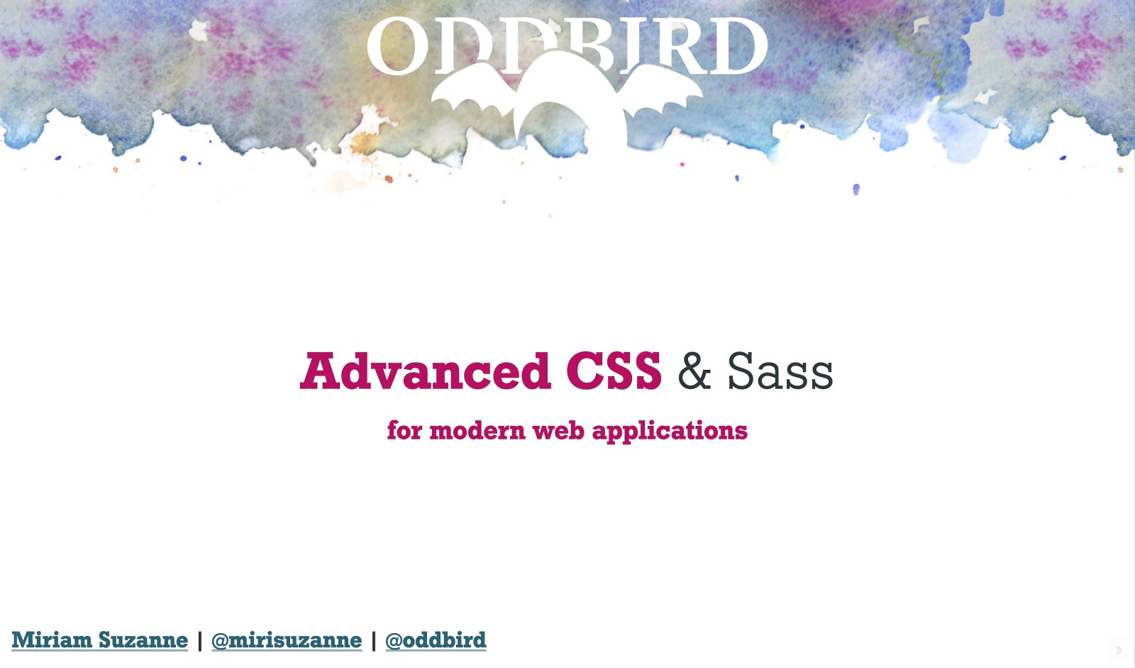 Advanced CSS & Sass for Modern Applications