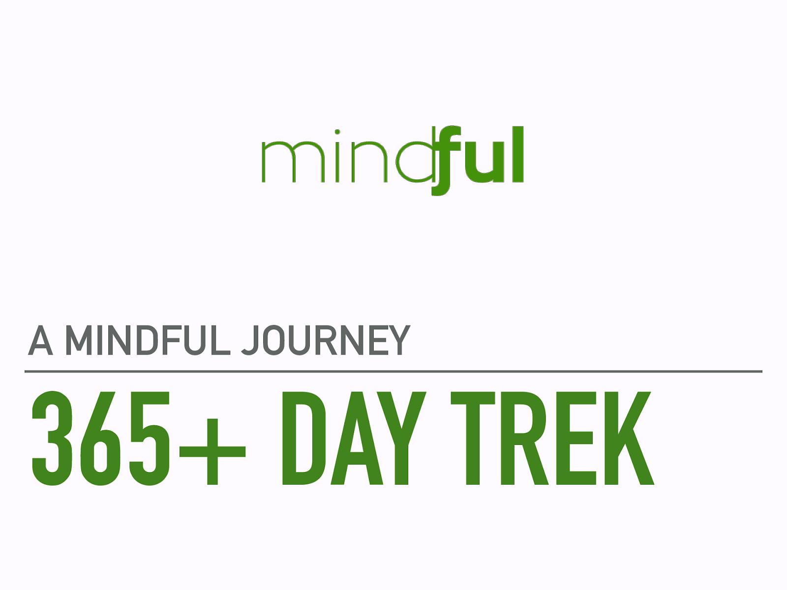 365 Day Trek - A Mindful Journey