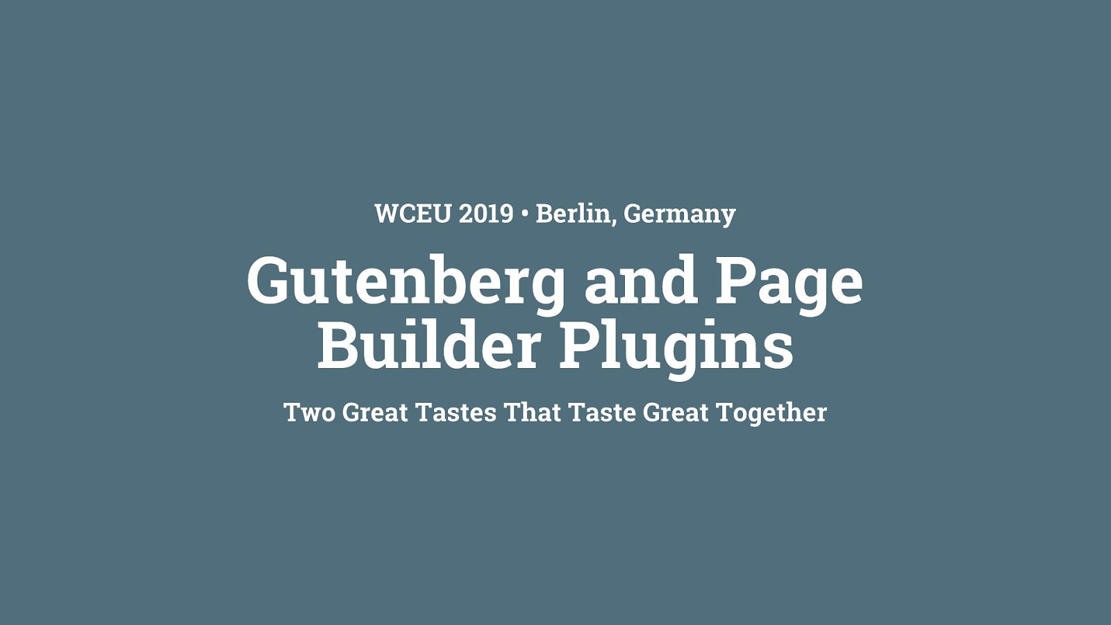 Gutenberg and page builder plugins: Two great tastes that taste great together